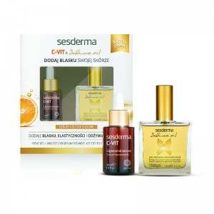 Sesderma C-VIT Serum + Sublime Oil Zestaw