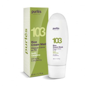 Purles 103 Kremowa Maska Ryżowa Rice Cream Mask 50 ml
