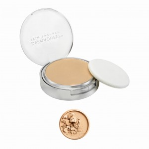 Dermaquest DermaMinerals Buildable Coverage Pressed Mineral Powder SPF 15 Peptydowo-mineralny puder prasowany SPF 15 - kolor 2W 9,1 g
