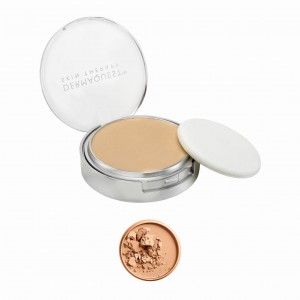 Dermaquest DermaMinerals Buildable Coverage Pressed Mineral Powder SPF 15 Peptydowo-mineralny puder prasowany SPF 15 - kolor 3N 9,1 g